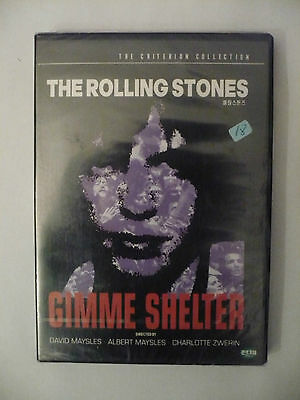 The Rolling Stones Dvd Gimme Shelter