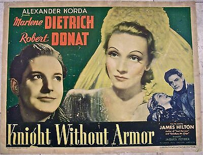 Reduced 110$$! Knight Without Armor '37 1/2 Sh ~ Dietrich &  Donat ~ Espionage!