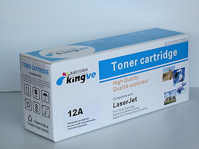 8pk Compatible Laser Toners for HP 12A (Q2612A) fits HP1012 1018 1020 M1319 12A