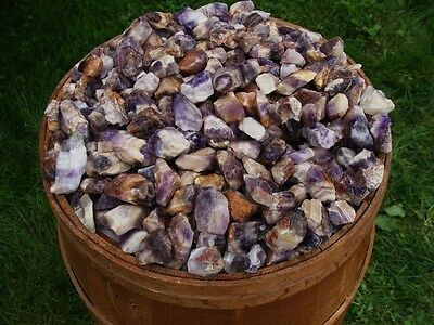 1000 Carat Lots of Natural Banded Amethyst Rough - Plus a FREE faceted Gemstone