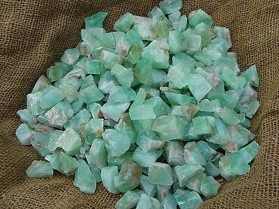3000 Carat Lots of Unsearched Natural Green Calcite + a FREE Faceted Gemstone