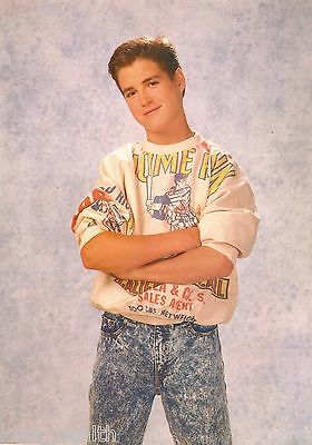 TREY AMES - GEORGE MICHAEL - YEAR IN THE LIFE TEEN BOY ACTOR 11x8 MAGAZINE PINUP