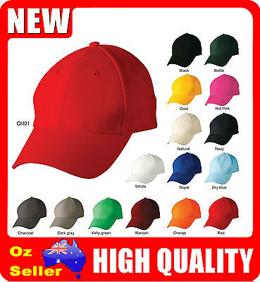Adult / Kids Plain Baseball Caps / Golf Hats / Outdoor Sport Hats - Cotton Ch01
