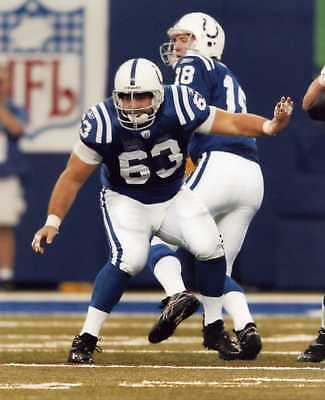 Jeff Saturday Indianapolis Colts 8X10 Sports Photo (M)