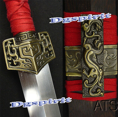 "40.6"" Sharp Battle Ready Hand Forged Chinese Han Sword Jian"