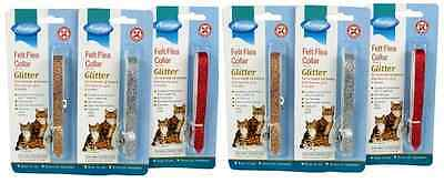 Armitage 6 Glitter Cat Kitten Flea Collars Kills Fleas Reduced Free Postage