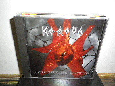 KOROVA a kiss in the charnel fields CD M-/M- AUS FUORI CATALOGO