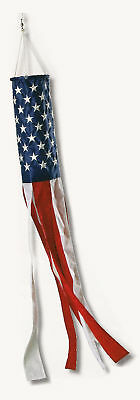 Embroidered American Flag Wind Socks *100% MADE IN U.S.A* Allied Flag™ NEW Deva