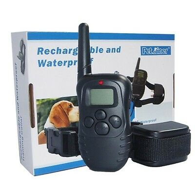Rechargeable and waterproof 998dr lcd remote controller dog for training 300M