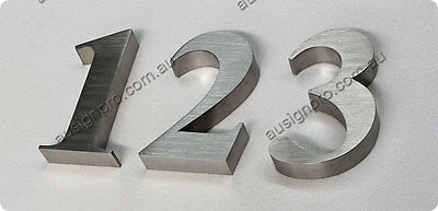 House/ Street Number- Stainless Steel Number /3D Sign Letter-150mm High