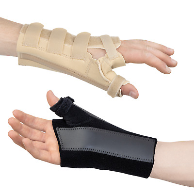 Wrist Thumb Brace Support Splint : Scaphoid Fracture Thumb Sprain Pain NHS Use