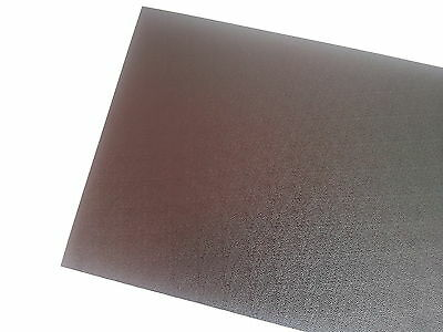 1.5mm Black ABS Pinseal/Textured Sheet 297x420mm A3 New