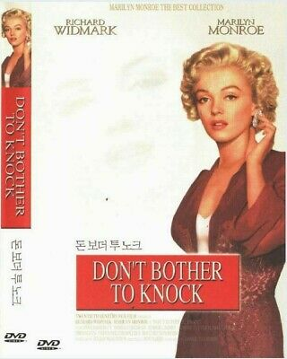 Don't Bother to Knock (1952) New Sealed DVD Marilyn Monroe