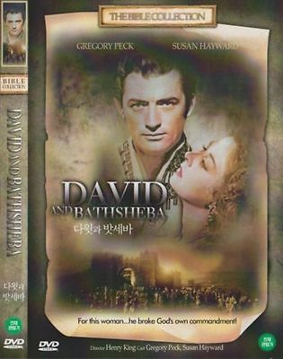 David and Bathsheba (1951) New Sealed DVD Gregory Peck