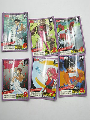 Anime Yu Yu Hakusho Super Battle Carddass Card Set I Japan Bandai