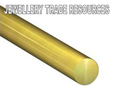 JEWELLERY MAKING ROUND 9ct YELLOW GOLD WIRE 6MM 10mm