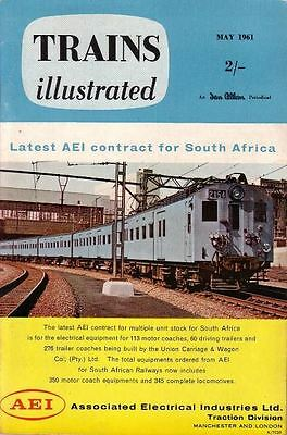 Trains Illustrated - May, 1961
