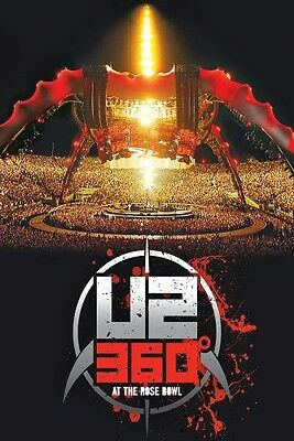 """U2 """"360 Degrees Tour (360° At The Rose..)"""" Blu Ray New"""