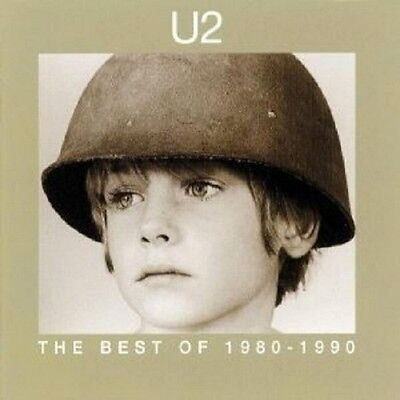 """U2 """"the Best Of 1980- 1990"""" Cd New"""