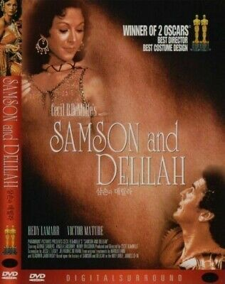 Samson And Delilah (1949) New Sealed DVD Cecil B. DeMille