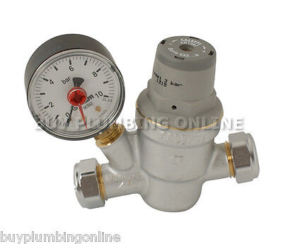 Caleffi 15mm Pressure Reducing Valve 533841H