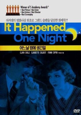 It Happened One Night (1934) New Sealed DVD Clark Gable