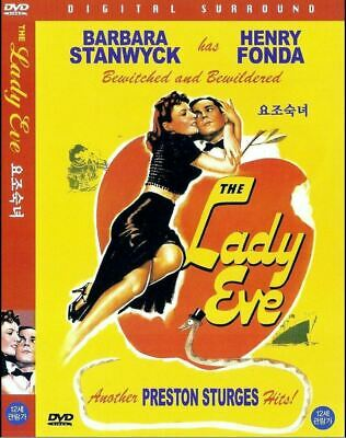 The Lady Eve (1941) New Sealed DVD Barbara Stanwyck
