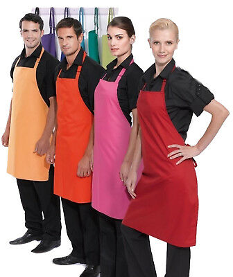 Premier Bib Apron - 28 Great Colours in Stock - Cooking Chef Baking Craft Food