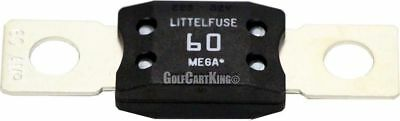 EZGO Golf Cart 60 Amp Fuse for DC Receptacle - Powerwise 1996-Up