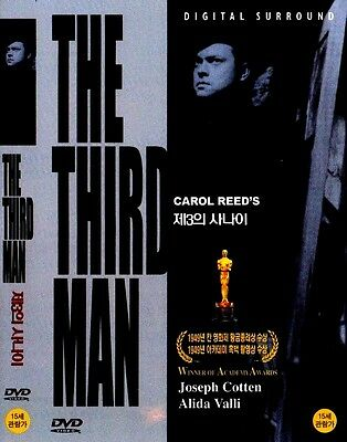 THE THIRD MAN (1949) New Sealed DVD Orson Welles