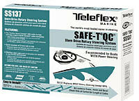 Teleflex SS137 Safe-T Quick Connect Steering System 14'
