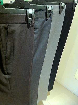 New Mens Dress  Business Formal Casual Pants Trousers (Size 28 - 46)