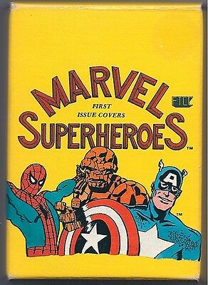 Marvel Comics Ftcc Superheroes First Issue Covers Trading Cards 1984 New Oop