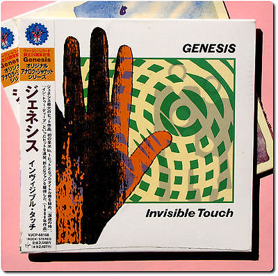 Genesis , Invisible Touch  ( CD Paper Sleeve , Japan )
