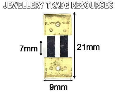 CLOCK SUSPENSION SPRING TOP QUALITY STEEL BRASS 21mm x 7mm x 9mm SPARES PARTS