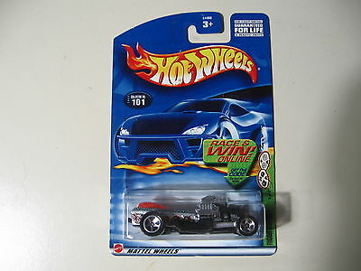 Hot Wheels: 2002 Grave Rave Series: Rigor Motor, Brand New and Sealed
