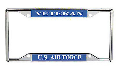 Veteran U.S. Air Force Metal License Frame EveryState