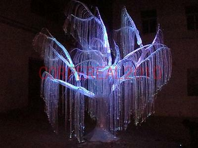 30M twisted side-glow light Fiber Optic cable for hotels KTV pubs lamp decors