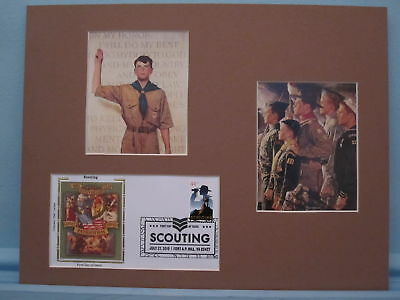 Cub Scouts, Boy Scout & Explorers & First Day Cover