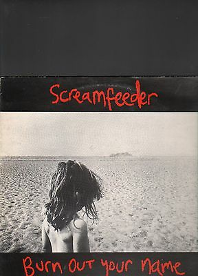 SCREAMFEEDER - burn out your name LP