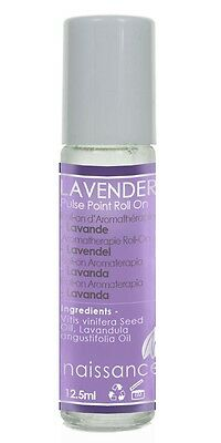 Naissance Lavender Aromatherapy Pulse Point Roll On 12.5ml