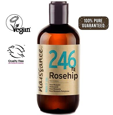 Naissance Rosehip Seed Oil 250ml Gentle Facial Cleanser make up remover