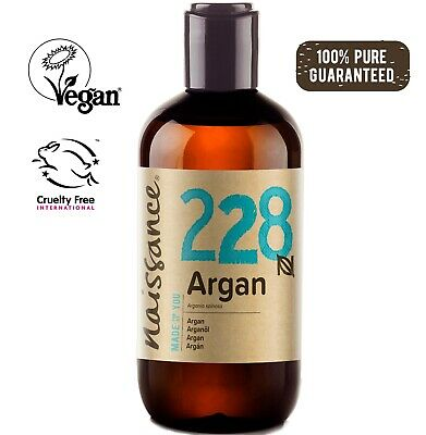 Naissance Moroccan Argan Oil 250ml - 100% Pure - Natural Moisturiser