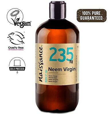 Neem Virgin Oil 500ml by Naissance