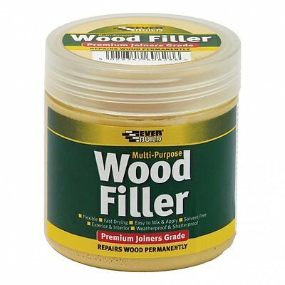 New Everbuild Wood Filler 250ml | Many Colours Available