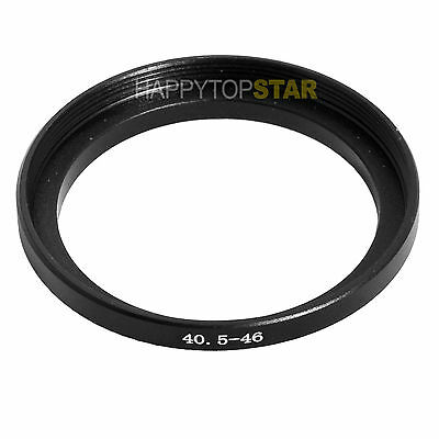 40.5mm to 46mm 40.5 - 46 mm Male to Female Step-Up Lens Filter Hood Ring Adapter