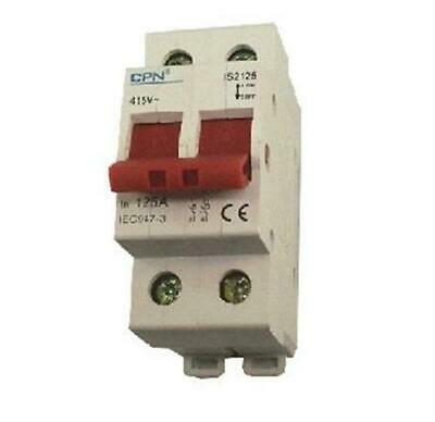 Cudis Is2100 100A Double Pole Isolator Switch Main Switch