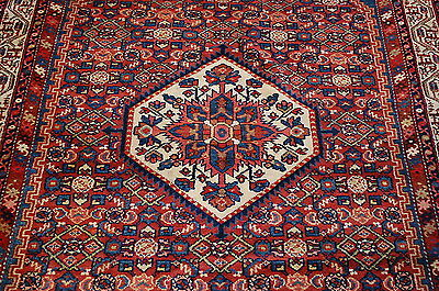 c1910s ANTIQUE MINT DETAILED PERSIAN MALAYER RUG 4.10x6.10 ULTRA RARE BEAUTY!!
