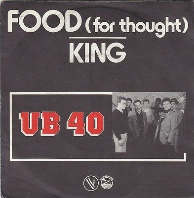 """UB40 - food (for thought) / king 45"""""""