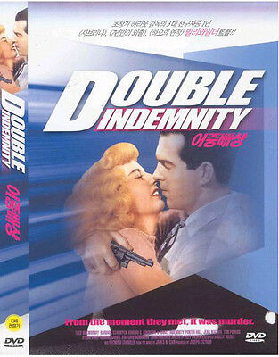 Double indemnity (1944) New Sealed DVD Billy Wilder